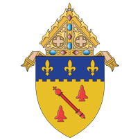The Coat of Arms of the Diocese of Baton Rouge